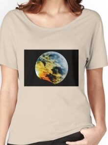 Stormy planet  Women's Relaxed Fit T-Shirt