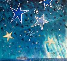 Talking to Stars - the boat by Clare McCarthy