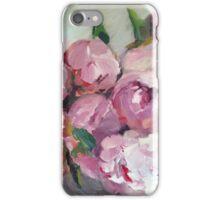 Pink Peonies Balls iPhone Case/Skin