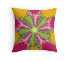 Diamond and Roses Throw Pillow