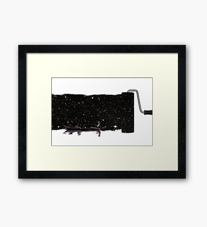 No anchor Framed Print