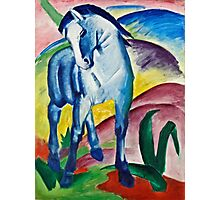 Franz Marc - Blue Horse I (1911)  Photographic Print
