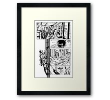 Darker Forces Framed Print