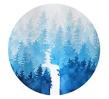 //Blue Forest// Photographic Print