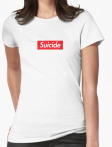 Suicide (SUICIDEBOYS Supreme) Womens Fitted T-Shirt