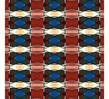 Red Green And Blue Abstract Photographic Print