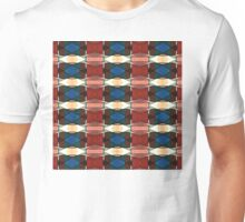 Red Green And Blue Abstract Unisex T-Shirt