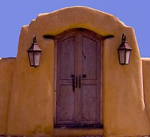Santa Fe Yellow and Blue by Jing3011