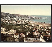 General view from Mustapha - Algiers Algeria - 1899 Photographic Print