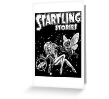 Science Fiction Startling Stories Greeting Card