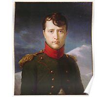 Franсois Gerard - Napoleon Bonaparte Premier Consul Poster