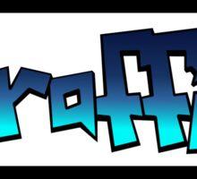 Graffiti (blue) Sticker