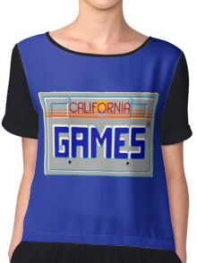 CALIFORNIA GAMES - SEGA MASTER SYSTEM Chiffon Top