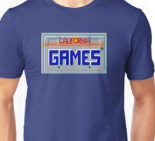 CALIFORNIA GAMES - SEGA MASTER SYSTEM Unisex T-Shirt