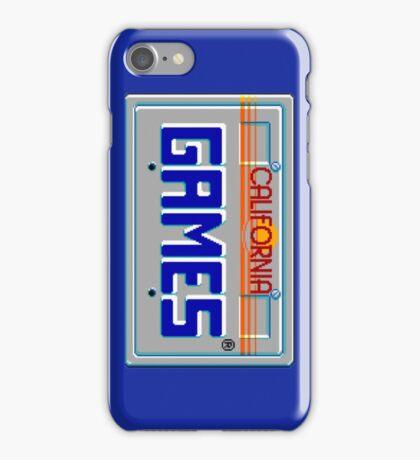 CALIFORNIA GAMES - SEGA MASTER SYSTEM iPhone Case/Skin