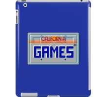 CALIFORNIA GAMES - SEGA MASTER SYSTEM iPad Case/Skin