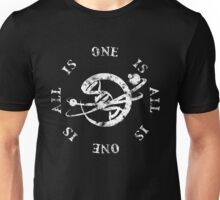 All Is One - Univers and Human Merging Unisex T-Shirt