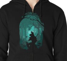 Zelda - Ocarina in the Woods Zipped Hoodie