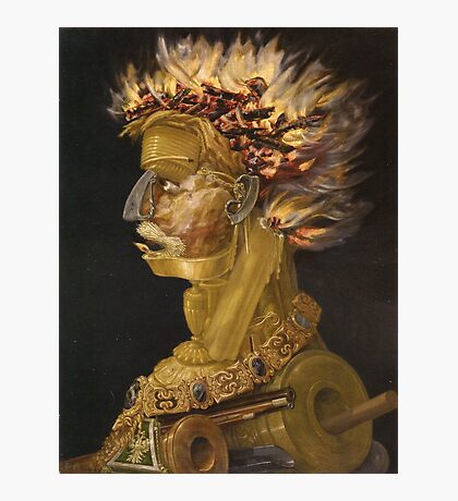 Giuseppe Arcimboldo - Fire - From The Four Elements 1566 Photographic Print