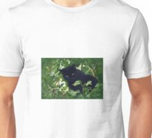 Sooty amongst the leaves Unisex T-Shirt