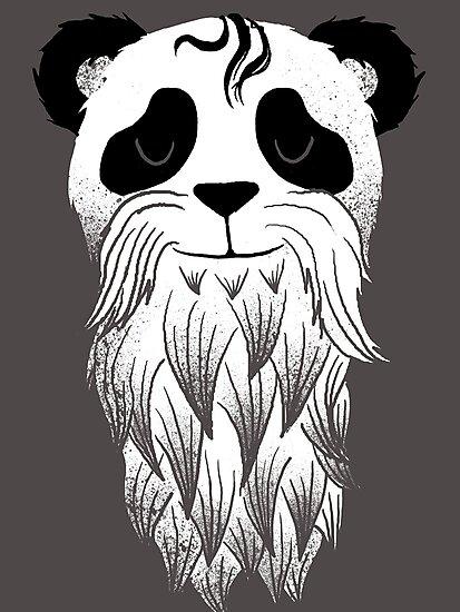 Panda Beard by Jonah Block