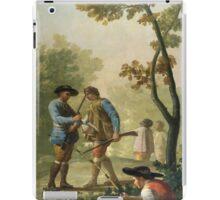 Goya - El Pescador De Cana iPad Case/Skin