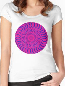 Psychedelia Women's Fitted Scoop T-Shirt