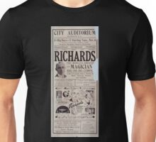 Performing Arts Posters Richards the worlds greatest magician and his big company the biggest stage show of the entire season 0264 Unisex T-Shirt