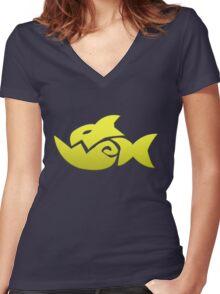 T.K. Women's Fitted V-Neck T-Shirt