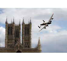 Lancaster City Of Lincoln  Photographic Print