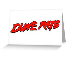 Dune Rats! Greeting Card