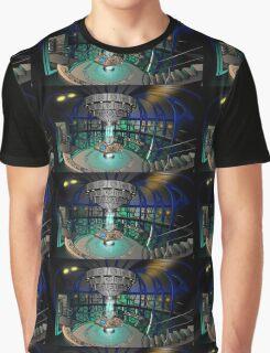 TARDIS Interior - Doctor Who Graphic T-Shirt