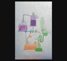 Science Lab Wonderland Baby Tee