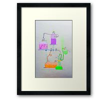 Science Lab Wonderland Framed Print
