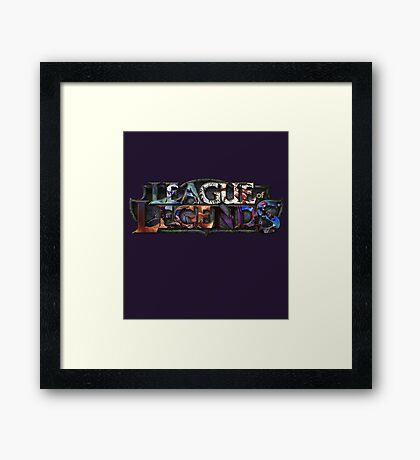LL Framed Print