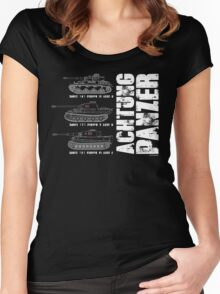 ACHTUNG PANZER Women's Fitted Scoop T-Shirt
