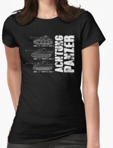 ACHTUNG PANZER Womens Fitted T-Shirt