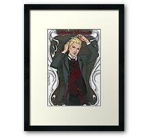 Nathaniel Framed Print