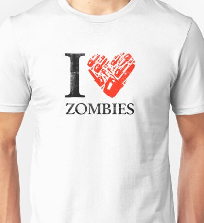 I Chainsaw Zombies Unisex T-Shirt