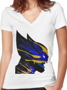wolverine Women's Fitted V-Neck T-Shirt