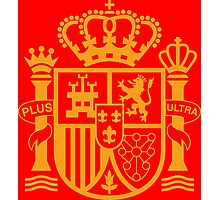 Spain Coat of Arms Photographic Print