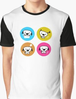 Dog icons collection. Original art and illustration Graphic T-Shirt