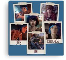 Life Is Strange - Photo Collage Canvas Print