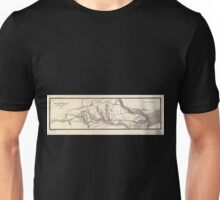 0420 Railroad Maps Plan of the West-Philadelphia Unisex T-Shirt