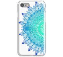 Mandala Blues iPhone Case/Skin