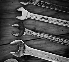 Tools B/W by Alexandra Vaughan Photography & Design