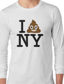 I love NY t-shirt parody 1 Long Sleeve T-Shirt