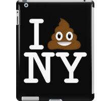 I love NY t-shirt parody iPad Case/Skin