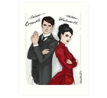 Cresswell & Wadsworth Art Print