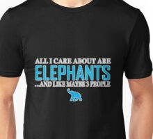 Elephants.! Unisex T-Shirt